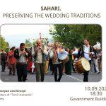 SAHARI. PRESERVING THE WEDDING TRADITIONS